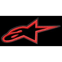 Alpinestars logo red