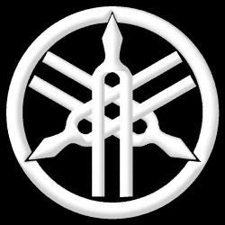 Yamaha Logo White