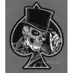 Skull Spade Flat Hat XL